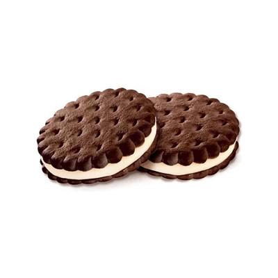 Печенье–сэндвич с шоколадно-сливочным вкусом