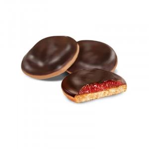 Печенье «Клубника», сдобное