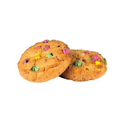 Печенье сдобное с цветным драже